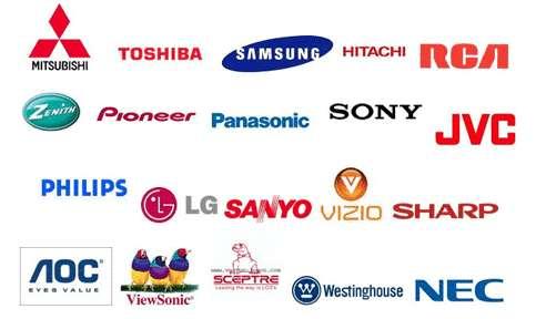 brands we service a plus tv repair piedmont triad winston-salem ... - Mobile Tv Repair